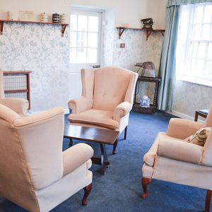 Northleach Court Care Home living room
