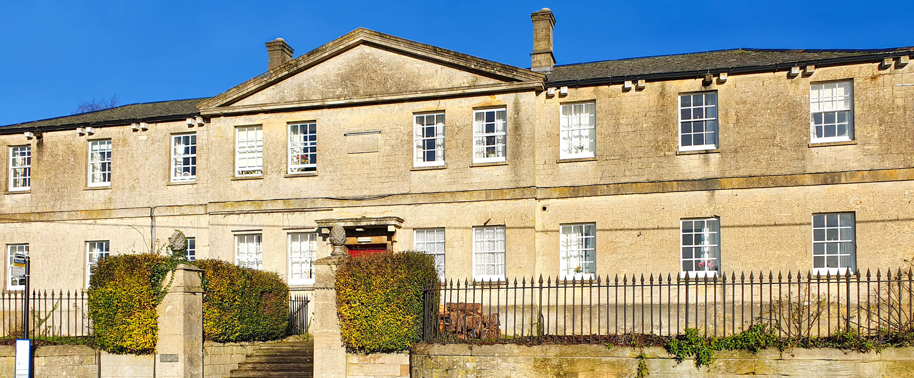 Northleach Court care home gloucestershire exterior